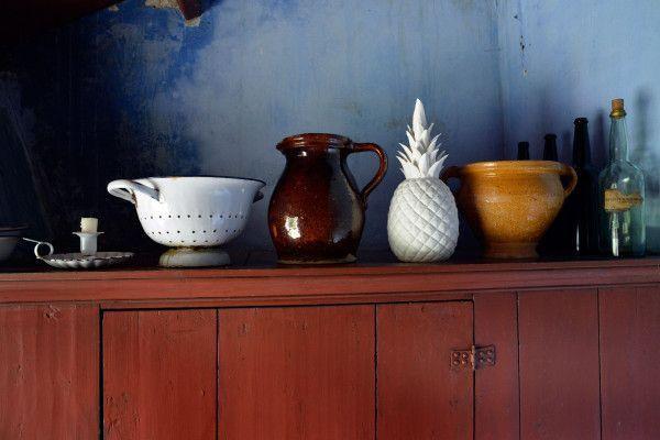 Pols Potten Pineapple White woondecoratie