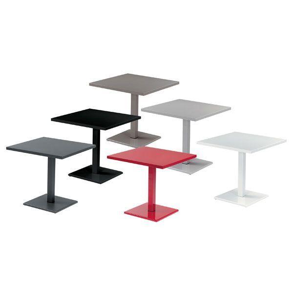 Emu Round tuintafel vierkant 80x80
