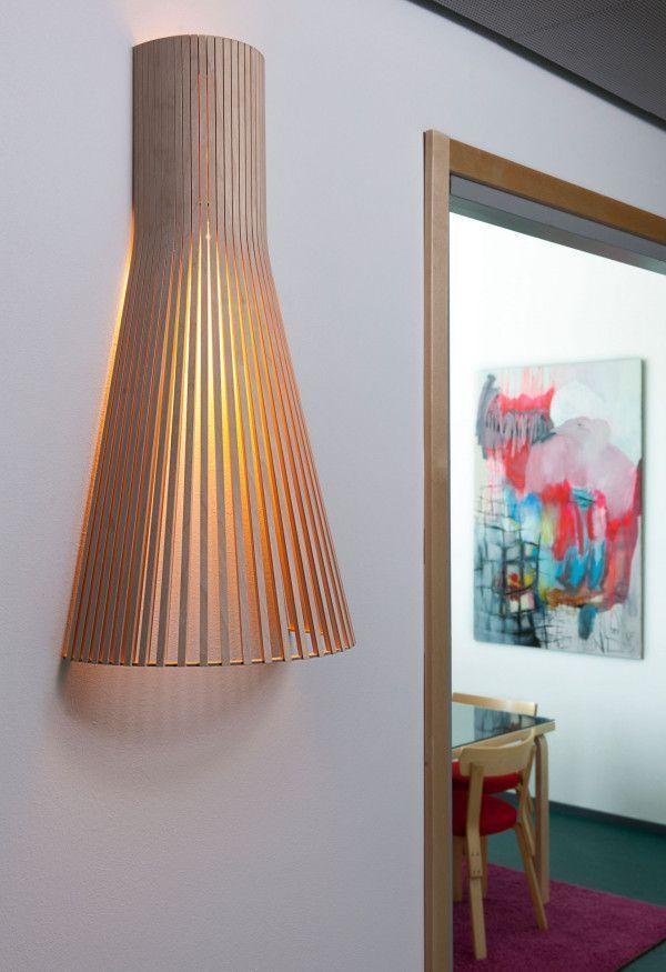 Secto Design Secto 4230 wandlamp 60cm met wandbevestiging
