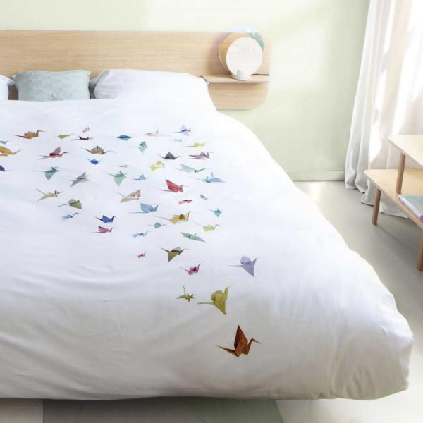 Snurk Crane Birds dekbedovertrek 140x200