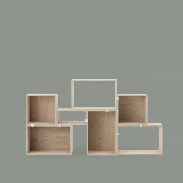 Muuto Stacked 2.0 kast met backboard medium
