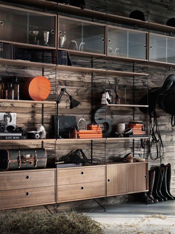 String Display cabinet 78 x 30 x 42 cm