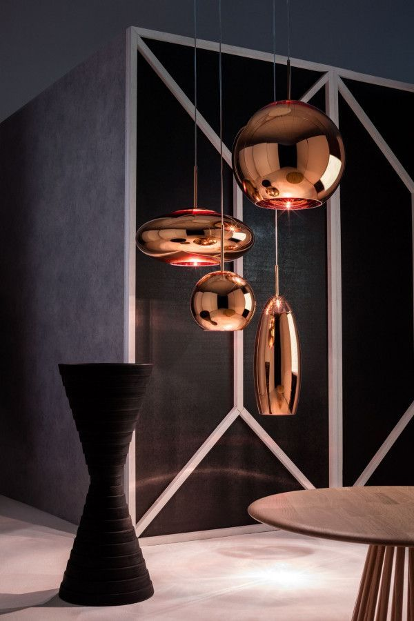 Tom Dixon Copper round 25 hanglamp