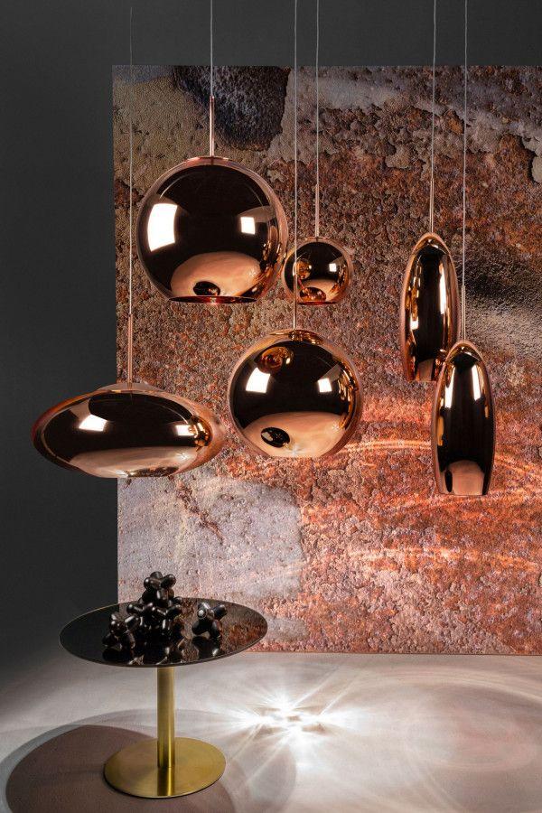 Tom Dixon Copper round 25 hanglamp koper