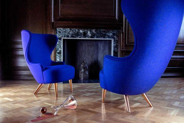 Tom Dixon Wingback Micro Copper fauteuil