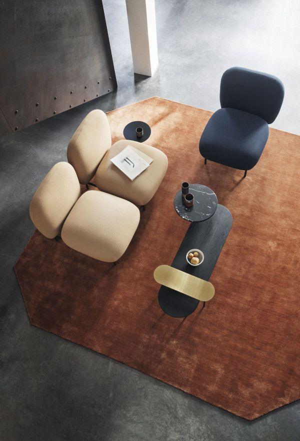 &tradition Isole fauteuil met bijzettafel