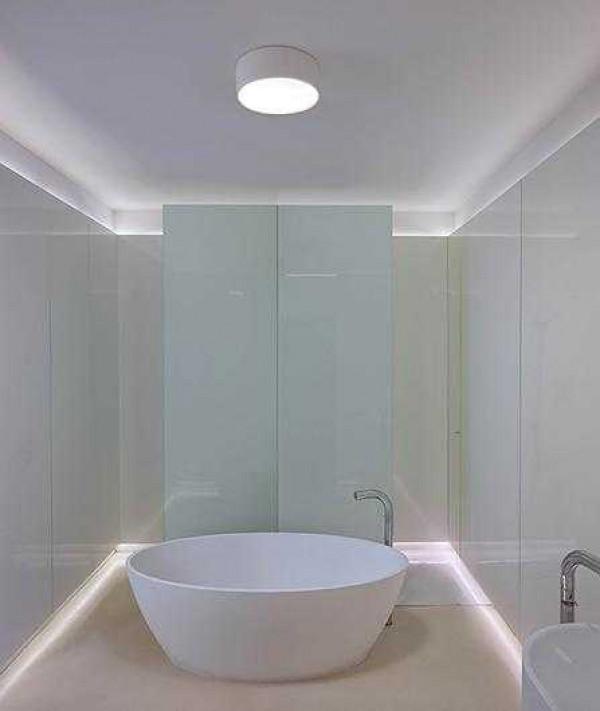 Vibia Plus plafondlamp rond dimbaar