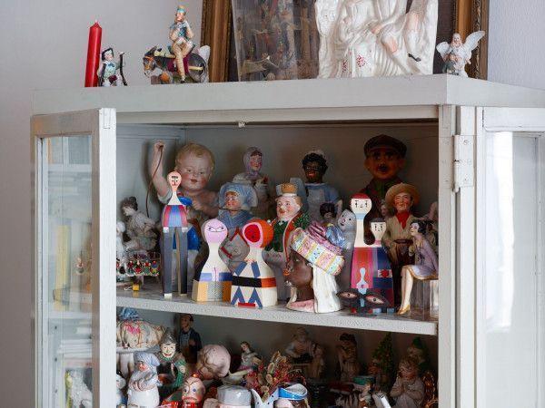 Vitra Wooden Dolls No. 15 kunst