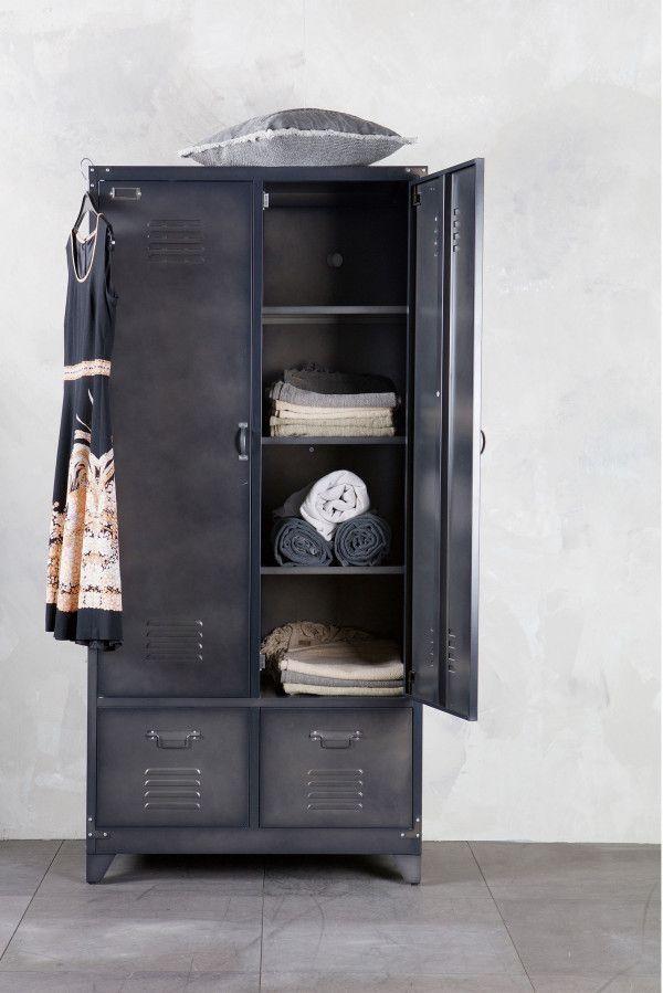 vtwonen Locker kledingkast metaal