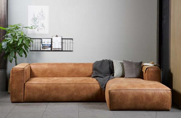 Design Hoekbank Van Leer.Woood Exclusive Bean Hoekbank Links Leer Flinders Verzendt Gratis