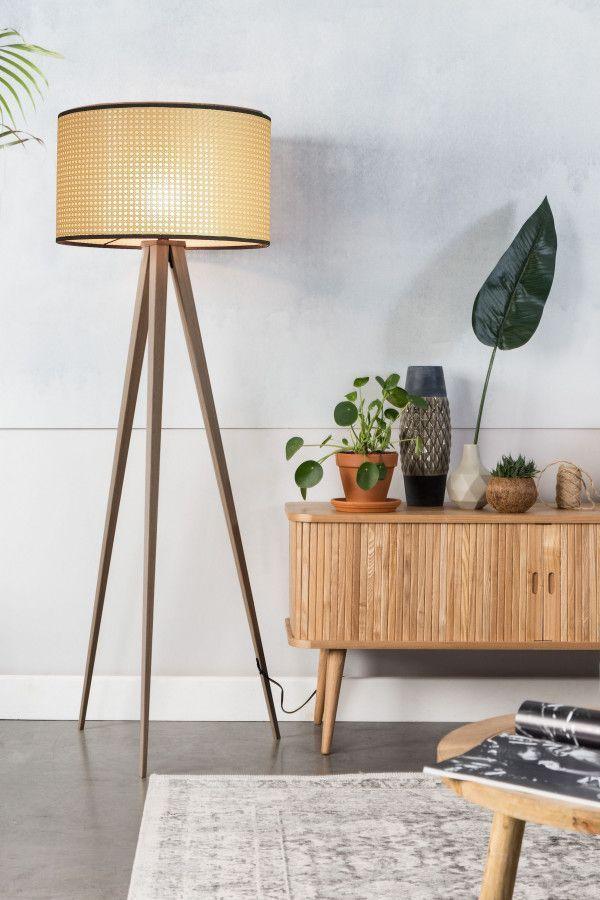 Zuiver Outlet - Tripod Webbing vloerlamp