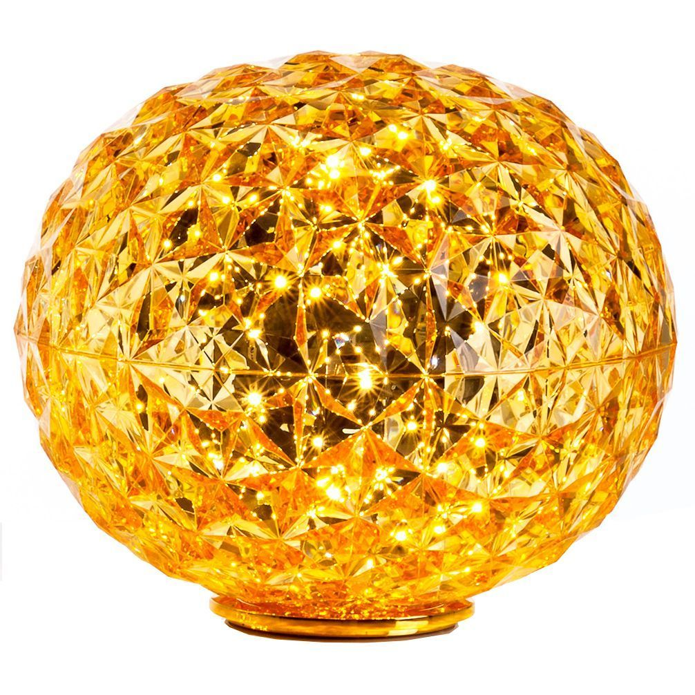 Kartell Planet tafellamp LED geel