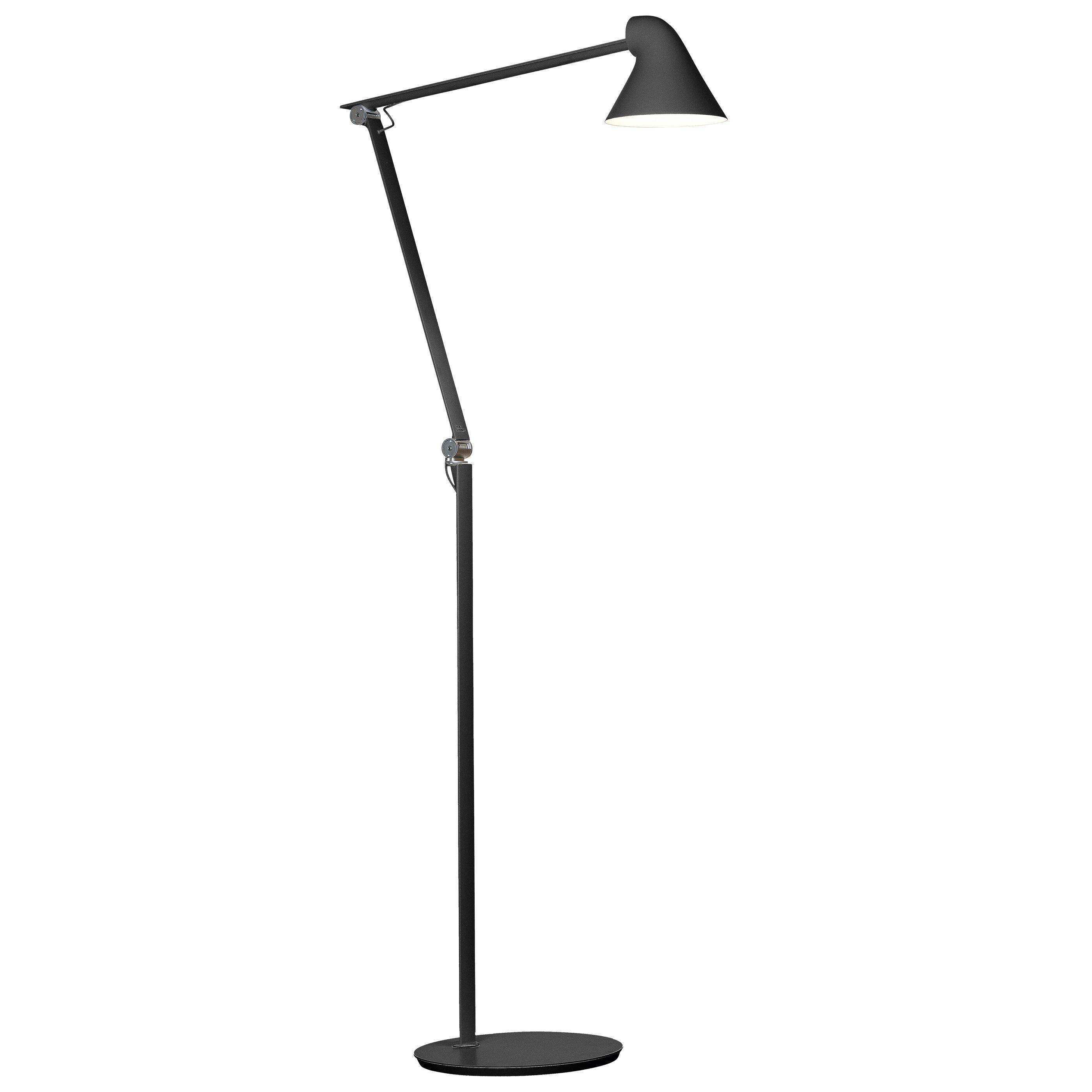 Louis Poulsen NJP vloerlamp LED zwart