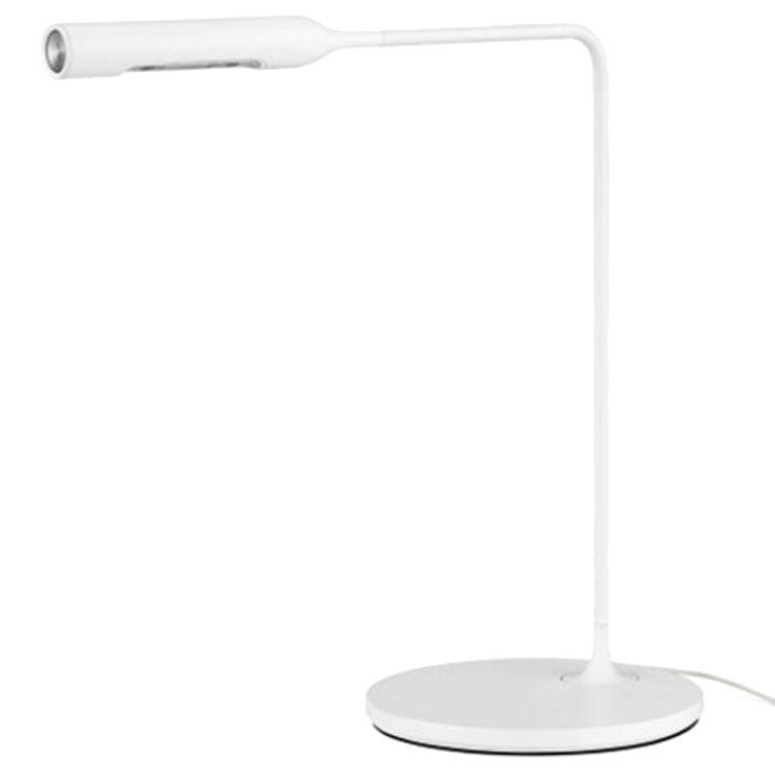 Lumina Flo bedside tafellamp LED wit