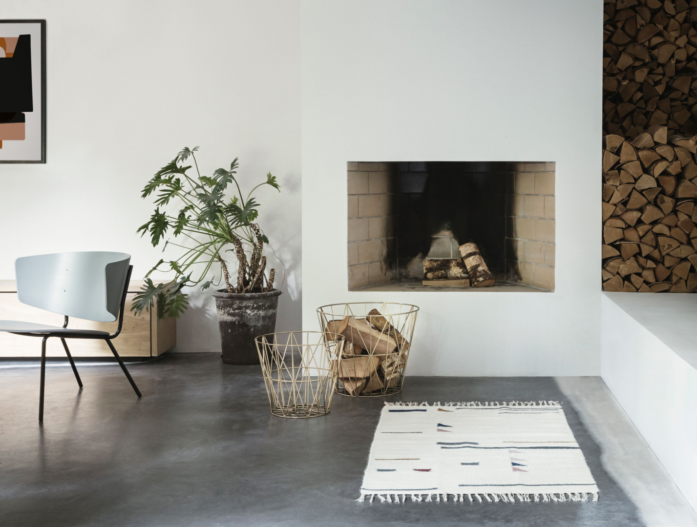 Woonkamer inspiratiefoto met Ferm Living Black Friday Deals