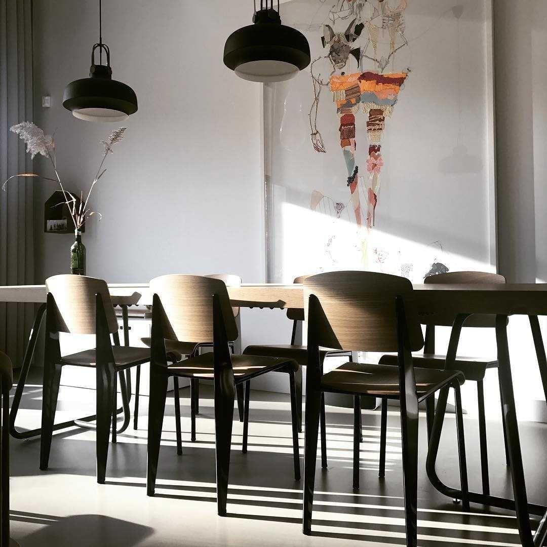 Eetkamer Eetkamer inspiratiefoto met &tradition Hanglampen