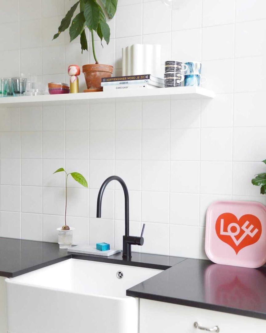Keuken Keuken inspiratiefoto met Vitra Magazijnopruiming