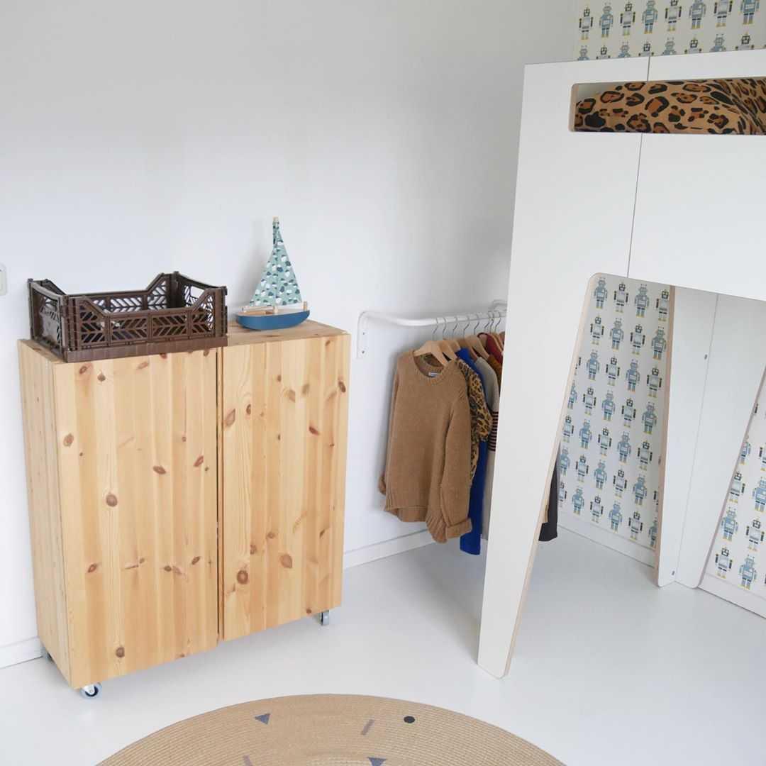 Kinderkamer Kinderkamer inspiratiefoto met Nofred Speelgoed