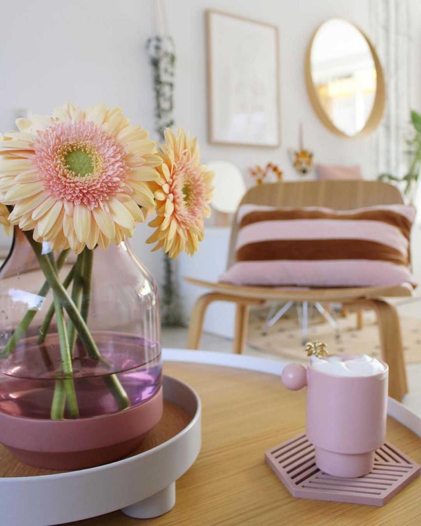 Woonkamer Woonkamer inspiratiefoto met Muuto Loungestoelen