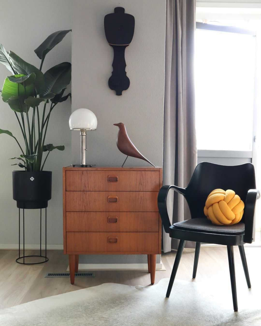 Woonkamer Woonkamer inspiratiefoto met Design House Stockholm Woonaccessoires
