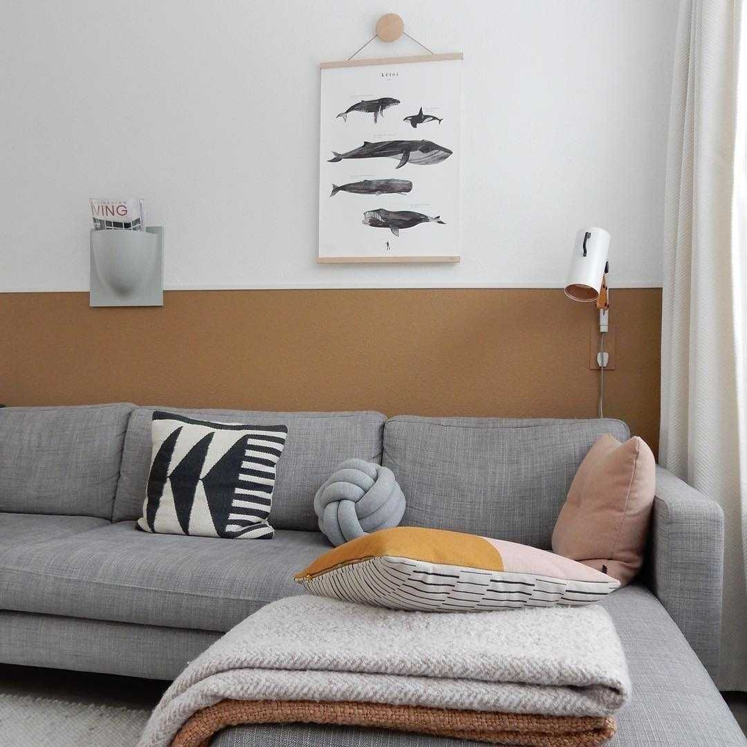 Woonkamer Woonkamer inspiratiefoto met Design House Stockholm Binnenverlichting