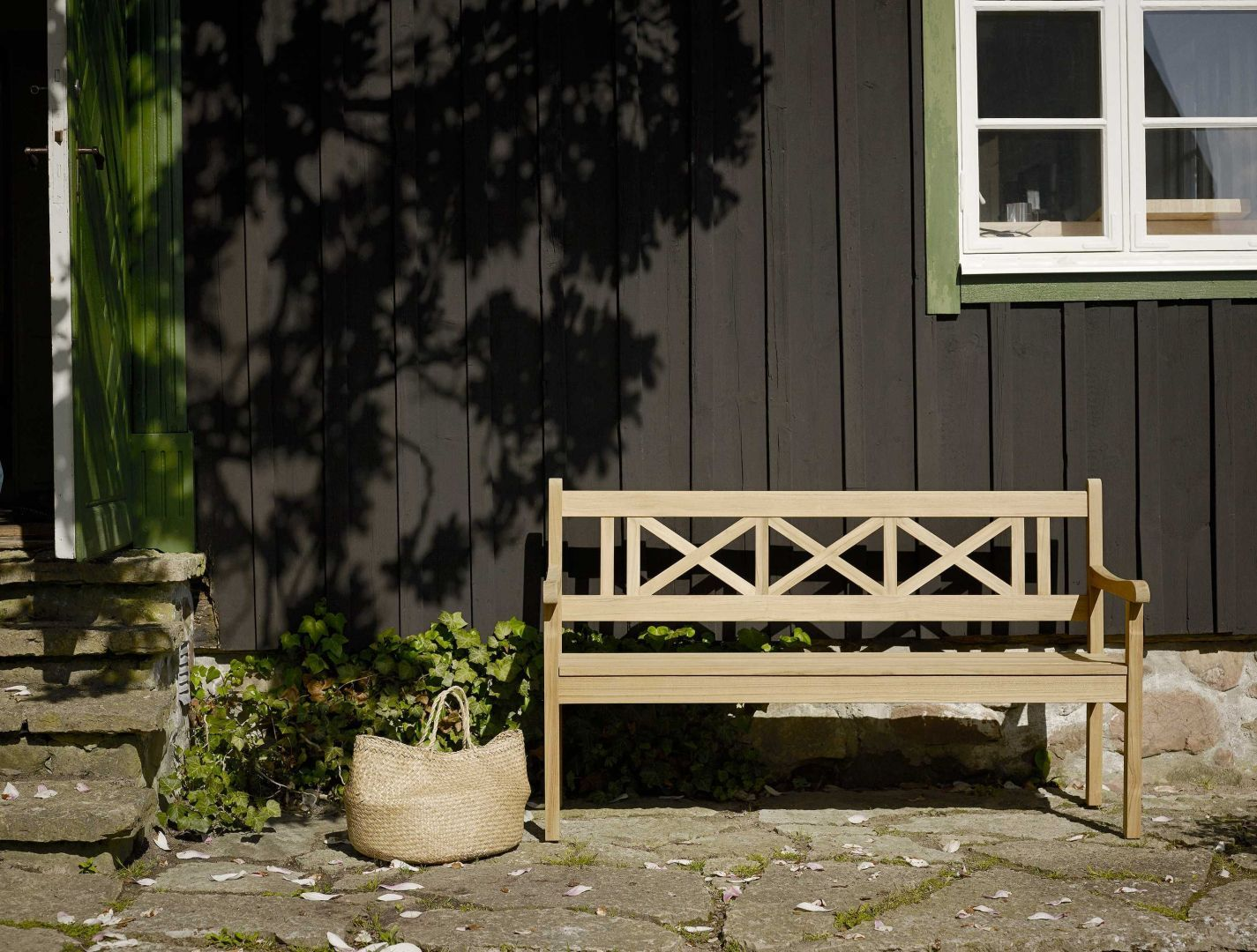 Tuin inspiratiefoto met Skagerak