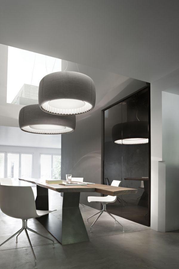 Luceplan Silenzio akoestische hanglamp 148,5cm LED 2700K