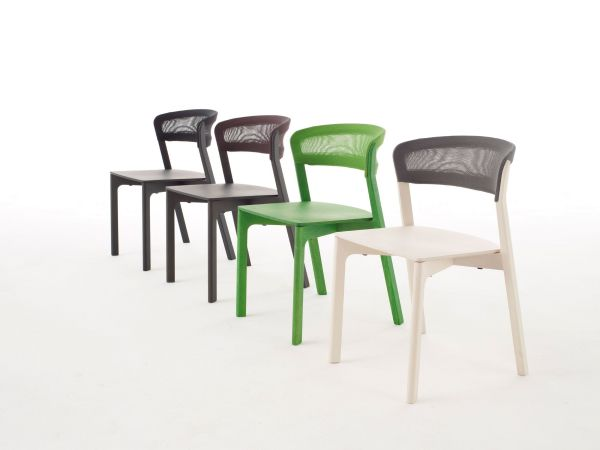 Arco Café Chair stoel white wax