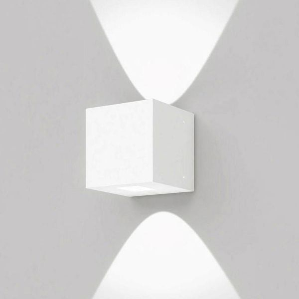 Artemide Effetto wandlamp LED 2 brede lichtstralen - lichtgrijs