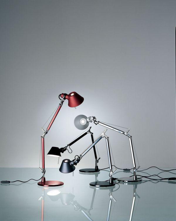 Artemide Tolomeo Micro LED bureaulamp met voet 3000K