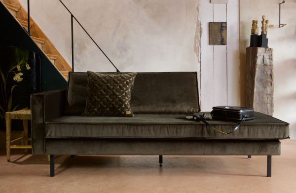 BePureHome Rodeo Velvet Daybed bank links