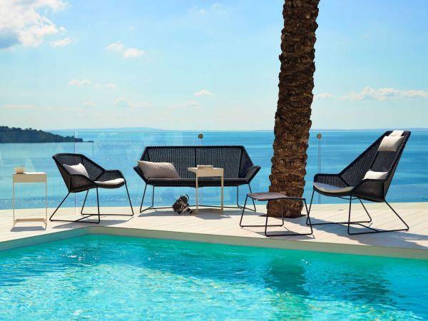 Cane-Line Breeze Highback Lounge fauteuil