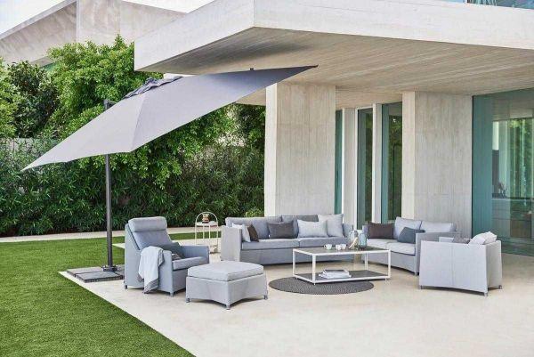 Cane-Line Hyde Luxe Tilt parasol 300x300