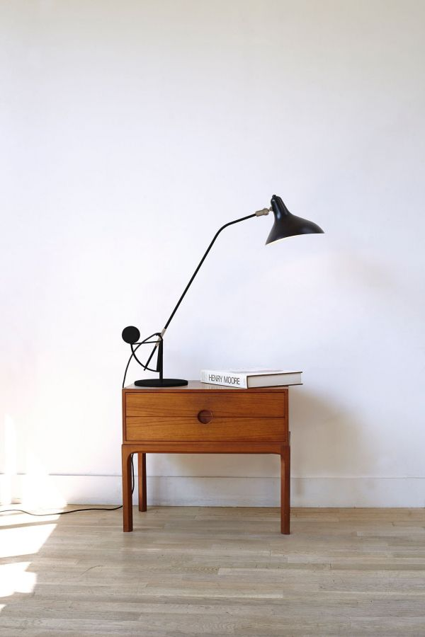 DCW éditions Lampe Mantis BS3 bureaulamp
