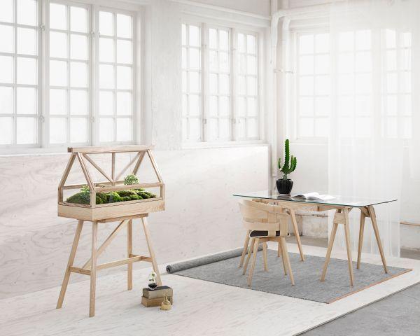 Design House Stockholm Arco bureau wit