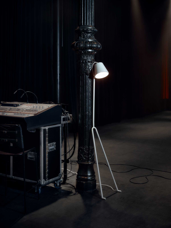 Design House Stockholm Mañana vloerlamp wit (special edition)