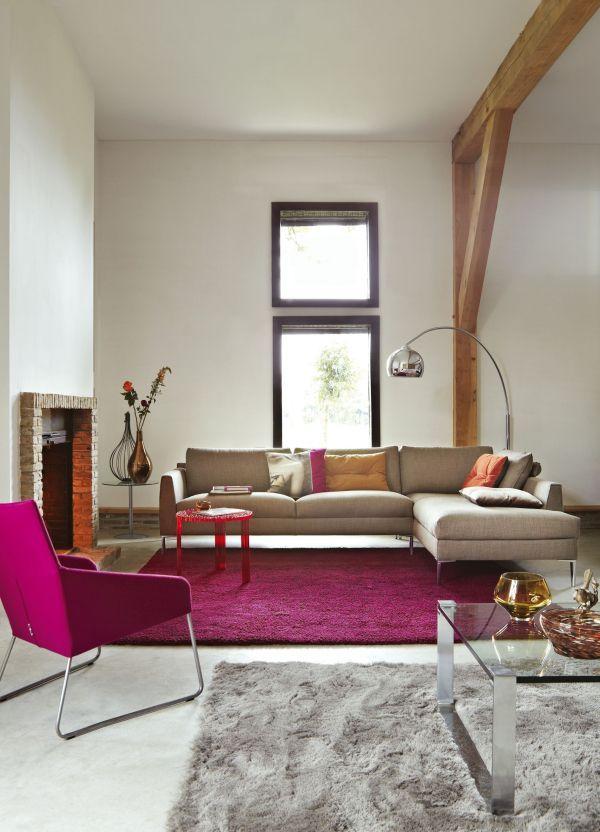 Design on Stock Heelz bank 3-zits 1-arm + chaise longue