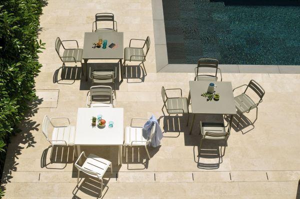 Emu Star tuinset 160x90 tafel + 4 stoelen (chair)