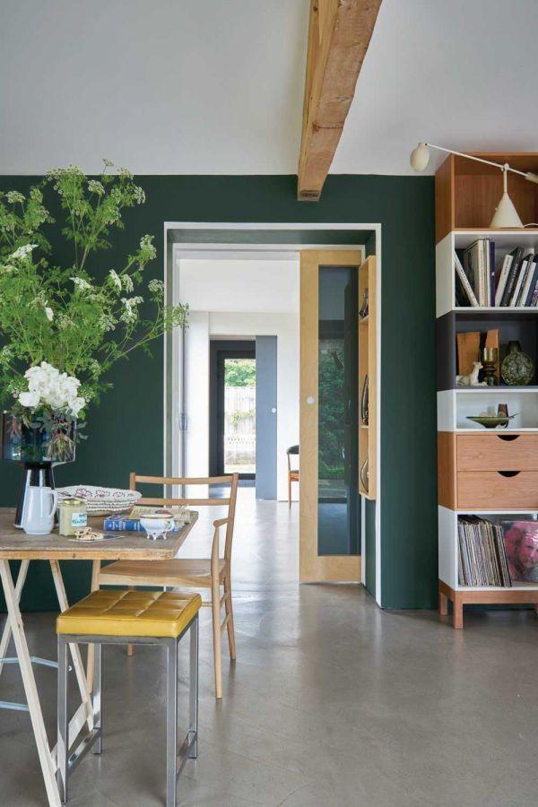 Farrow & Ball Hout- en metaalverf binnen Studio Green (93)