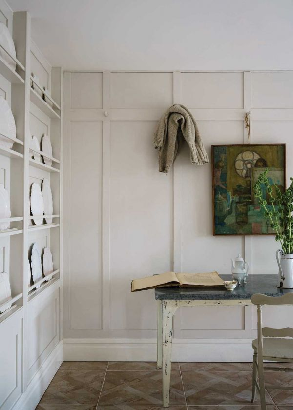 Farrow & Ball Hout- en metaalverf binnen School House White (291)