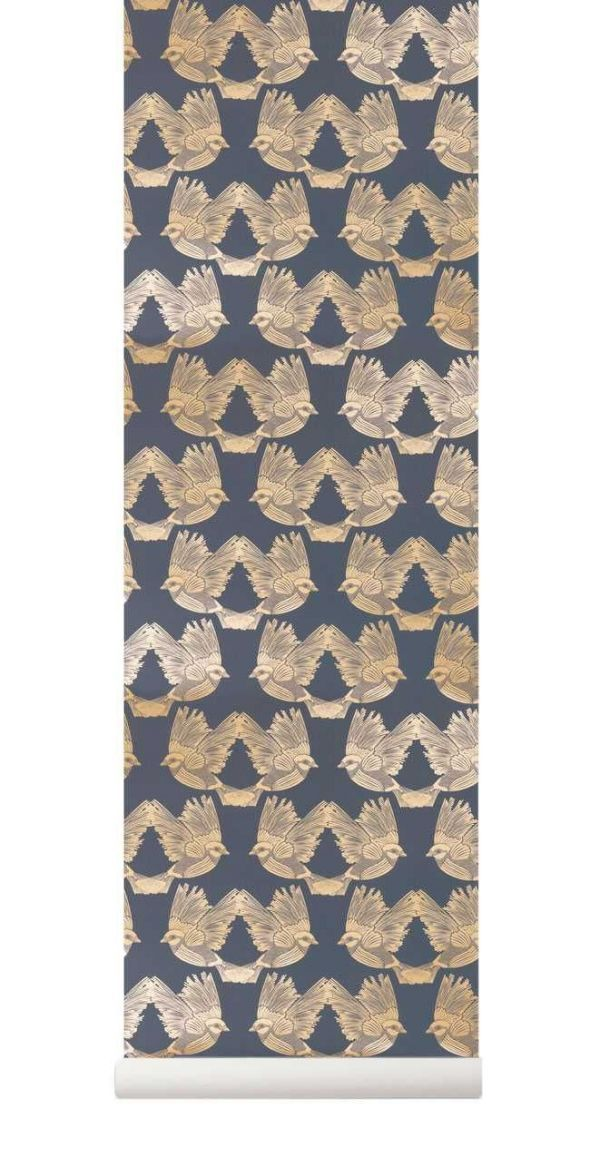 Ferm Living Birds behang