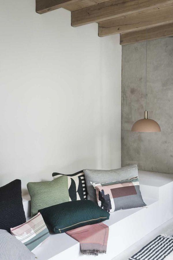 Ferm Living Dome Rose hanglamp