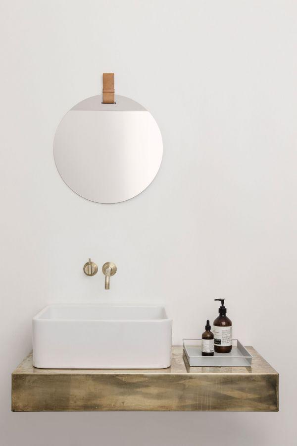 Ferm Living Enter spiegel large naturel