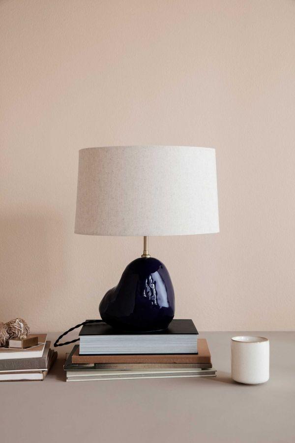 Ferm Living Hebe tafellamp small blauw