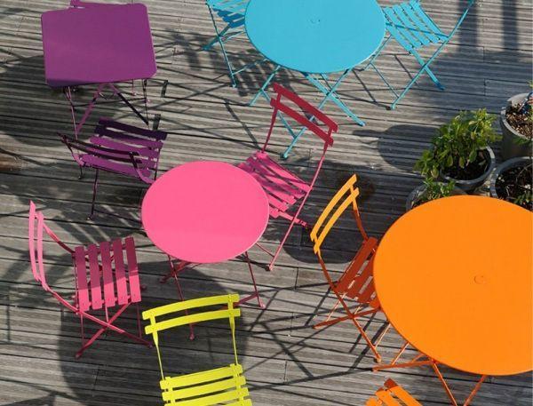 Fermob Bistroset tuin 60 tafel + 2 stoelen