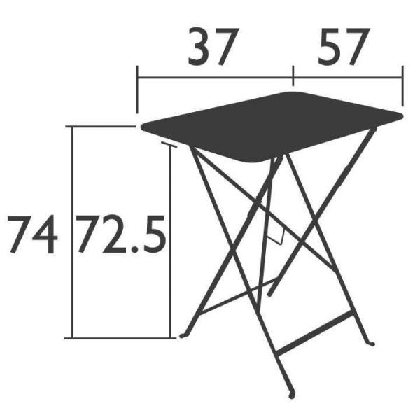 Fermob Bistro tuintafel 37x57