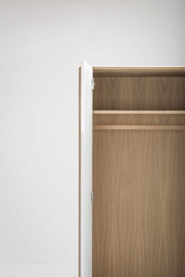 Gazzda Ena garderobe hangend 200x90 whitewash