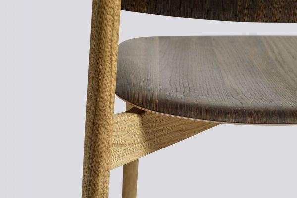 Hay Soft Edge Wood stoel