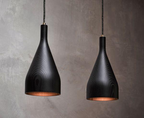 Hollands Licht Timber hanglamp small