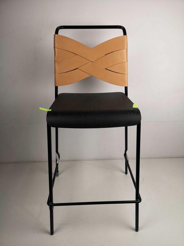 Design House Stockholm Tweedekansje - Torso barkruk 65cm zwart/naturel